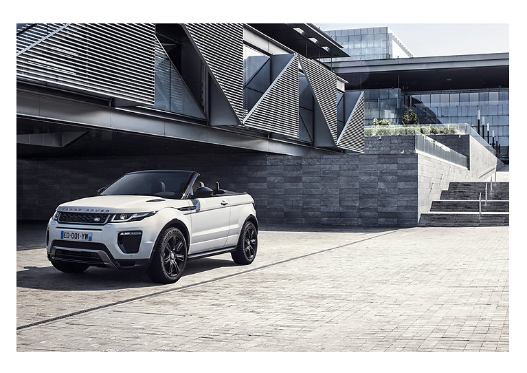 Land Rover Evoque Personal work